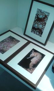 3 Framed Pictures Ocean Inspired Carramar Wanneroo Area Preview
