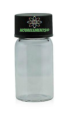 1 EMPTY glass vial spare part to store the elements phosphorus, gallium +1 label segunda mano  Embacar hacia Argentina