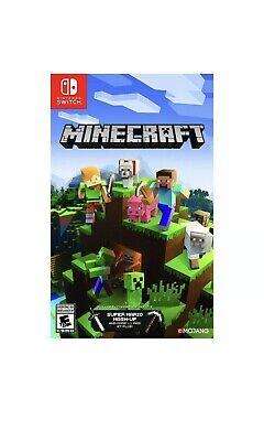 Nintendo Switch Minecraft Game (BRAND NEW SEALED)