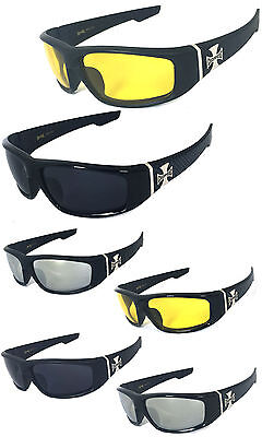 Choppers Mens Motorcycle Biker Sunglasses 6 Color Available for Choosing (Choosing Sunglasses)