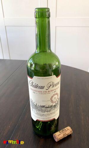 Star Trek CHATEAU PICARD wine bottle and cork ~ 2386 grand vin de bordeaux