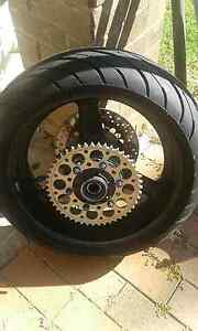 Yamaha R1 rear wheel 98-03 fz1 01-05 Heckenberg Liverpool Area Preview