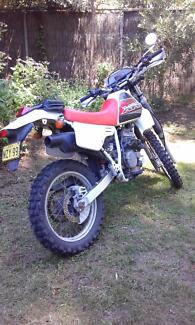XR250 1993 WITH LONG REGO