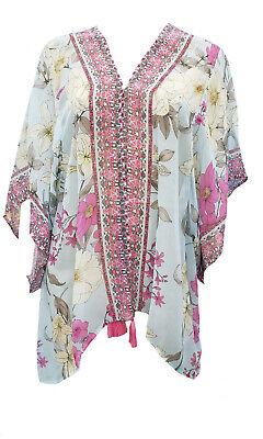 Johnny Was Belladona Printed Short Kimono - CSW6320-F