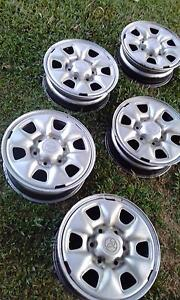 Toyota Hilux wheels Trinity Park Cairns Area Preview