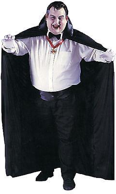 Big And Tall With Black Collar Halloween Funworld (Big And Tall Kostüme)
