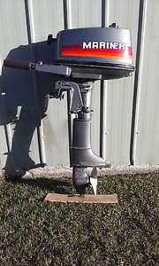 4hp Mariner Outboard motor East Kempsey Kempsey Area Preview