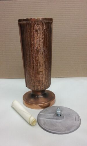 Copper Plated Cemetary Vase
