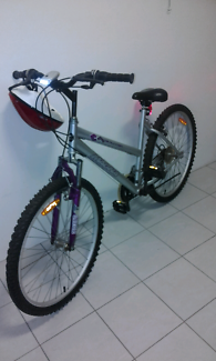 "Magna 26"" bike + L.E.D lights & helmet"