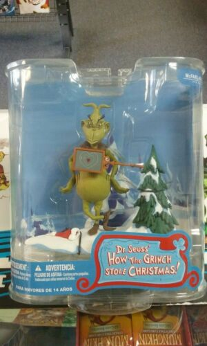 McFarlane Toys Dr. Seuss How the Grinch Stole Christmas! Two Sizes Too Small