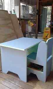 Handmade kids table and chair with tidy box Albany Creek Brisbane North East Preview
