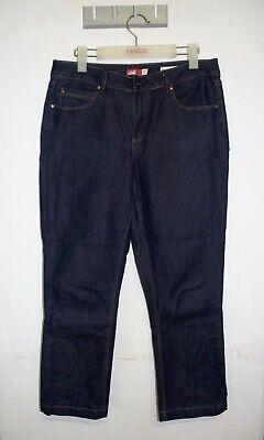 Jag Jeans Size 13 High Rise Turn Up Crop Medium Wash Cotton Denim