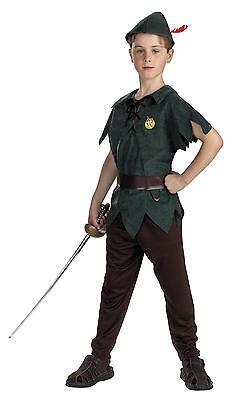 Disney Jungen Klassisch Peter Pan Kostümgröße 4-6 - Peter Pan Disney Kostüm