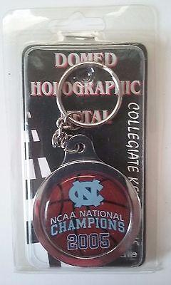 North Carolina Tar Heels Metal Dome Keyring 2005 NCAA National Champions ACC NIP 2005 North Carolina Tar Heels