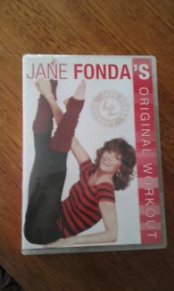 Jane Fonda's  workout dvd. Minto Campbelltown Area Preview