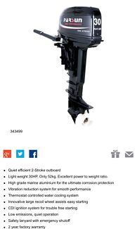 Parsun 30hp outboard BRAND NEW  Alkimos Wanneroo Area Preview