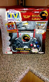 Mortal Kombat plug n play never used
