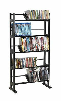 150 DVD BluRay Games Tower Stand Organizer Rack Shelf Holder Storage Media Video