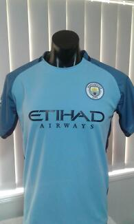 MANCHESTER CITY ADULT HOME JERSEYS FROM SOCCER PLANET