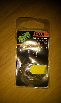 TCG Tackle 10x Size 8 Curved Shank Straight Point Mugga Carp Hook Black