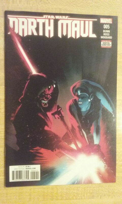 Darth Maul #5 Regular Cover 1st print Comic is in NM