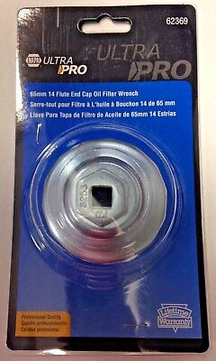 Napa 62369 Ultra Pro 65mm 14 Flute End Cap Oil Filter Wrench