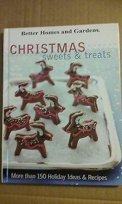 Better Homes and Gardens Christmas Sweets & Treats 2005 Hardcover VG Condition ()