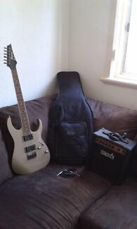 Ibanez RG321MH Electric Guitar W/Amp & Case- Made in Indonesia. Melville Melville Area Preview