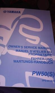 yamaha pw50(s) service manual Mandurah Mandurah Area Preview