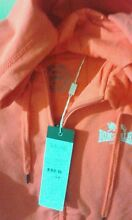 HOT CORAL LONSDALE HOODIE JACKET SIZE 12 Macquarie Fields Campbelltown Area Preview