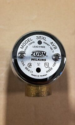 Zurn Wilkins 12-35xl 12 Atmospheric Vacuum Breaker Fnpt X Fnpt