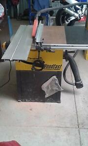 Woodfast 2hp table saw Craigmore Playford Area Preview