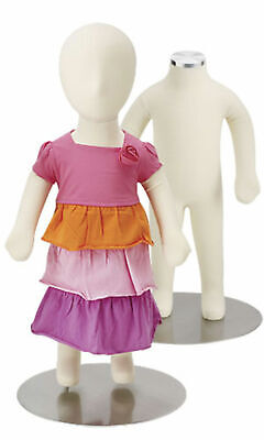 Baby Flexible Mannequin 3 Months - 24 With Head 18 Without Head - With Base
