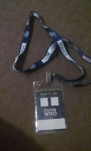dr who lanyard Rutherford Maitland Area Preview