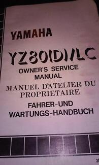 yamaha yz80(d)/lc service manual Mandurah Mandurah Area Preview