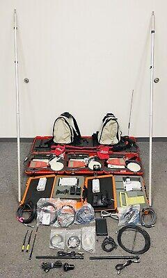 Lot Of Leica Survey Gps System 500 Rcs1000 Pdl4535 Radio More Read Description