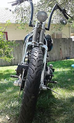 1993 Custom Built Motorcycles Chopper  BARE BONES  FAST N NASTY CUSTOM SPRINGER SOFTAIL CHOPPER BOBBER
