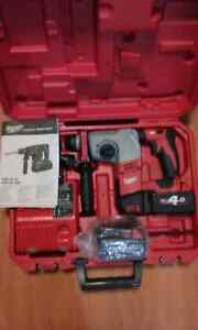 MILWAUKEE 18V ROTARY HAMMER DRILL NEW  $ 419 Liverpool Liverpool Area Preview
