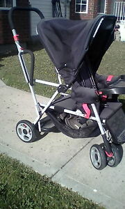 joovey sit and stand stroller
