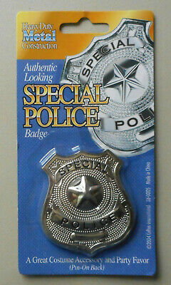 Toy Police Badge Play Costume Accessory (Police Badge Toy)