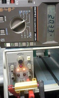 Tektronix Ps503a Tested Triple Output Power Supply - 20v 5v 1a W Manual