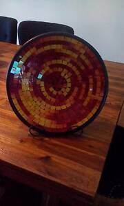 Mosaic Plate with Wrought Iron stand Wallsend Newcastle Area Preview