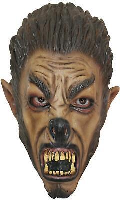 CHILD WEREWOLF WOLFMAN OVER THE HEAD LATEX MASK HALLOWEEN COSTUME TB25405 - Kids Werewolf Masks