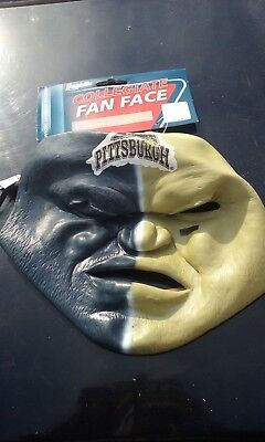 NCAA Pittsburgh Panthers Fan Face Mask Franklin Halloween - Miami Dolphins Halloween Jerseys