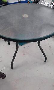 Glass Outdoor Table Aldinga Beach Morphett Vale Area Preview
