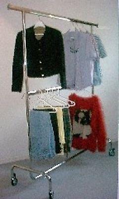 Kleiderkammer Sportgeschäfte Sanitärhäuser Secondhandgeschäft 100 cm  Querstange