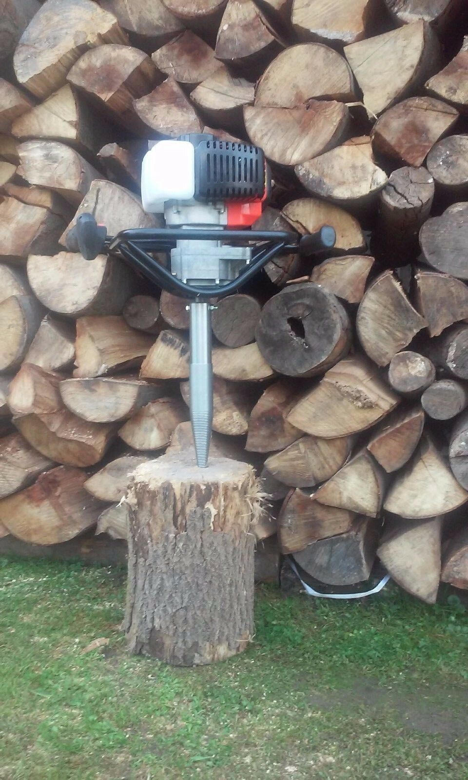 Holzspalter Kegelspalter Drillkekel für Benzin Erdbohrer Kegel Rechtsgewinde NEU