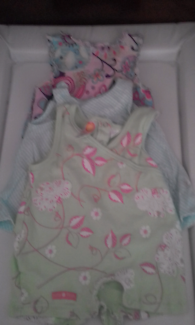 Baby Girl Size 000 Summer Bundle