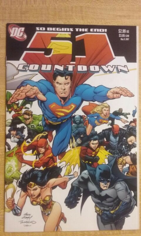 Countdown (to Final Crisis 2007 DC) #51 NM