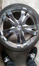 4 X Advanti Racing 18 inch rims, 215/35 ZR18 tyres NEAR NEW! Canberra Region Preview